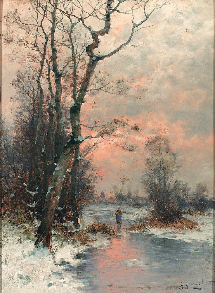Winter ~ Gernot Rasenberger. 1943