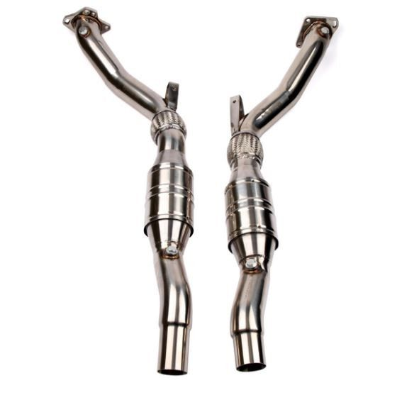 """Wagner 3"""" Downpipe Kit, B5 Audi S4/RS4 2.7T   #racing #road #Audi #TagsForLikes #car #rims #exoticcar #spoiler #speed #volkswagen #VW #sportscars #exoticcars #drive #porsche  New Arrivals!  Worldwide Shipping Available! -Qualified Free shipping Available! -Upgrade your ride today while supplies last!  The Wagner Tuning RS4 Downpipe kit is designed as a high performance, direct factory replacement downpipe kit for the B5 Audi S4/RS4 & C5 A6/Allroad 2.7T. Engineered using the latest CAD design…"""