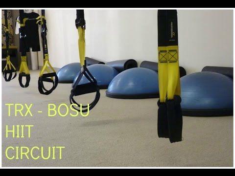 ▶ TRX/BOSU Hiit Circuit - YouTube