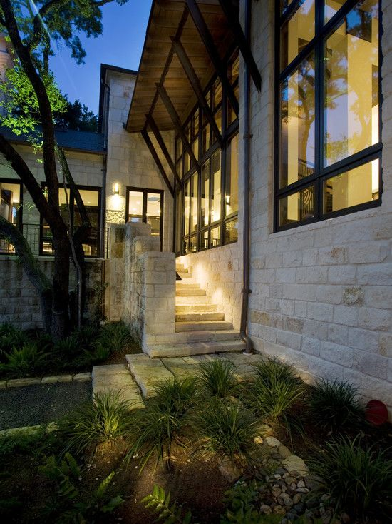 Texas Hill Country Design Austin Stone Love The Dark