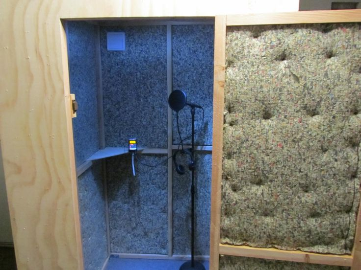 This Is My Homemade Recording Sound Booth Inventions