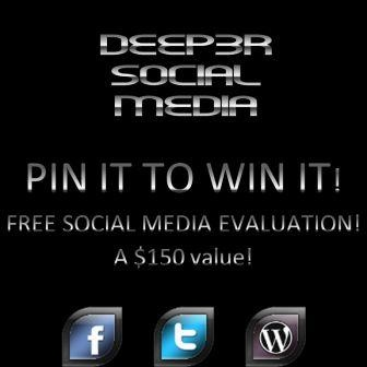 PIN IT TO WIN IT! We'll evaluate your current web presence—from your website, blog and traffic solutions, to your use of social media, and email opt in choices—or lack thereof. We'll have a 30 minute one-on-one call where we walk you through the results, and tell you what's hot and what's not and give you honest feedback & recomendations! The purpose of the call is to show you how to consolidate your efforts and maximize your results!   Winner will be chose...