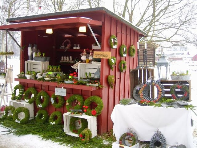 Love this!! Christmas market at Fredriksdal