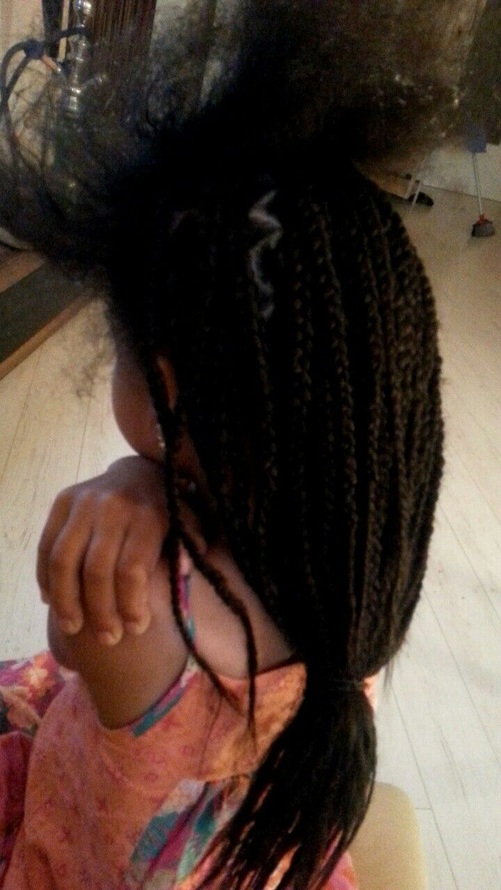 Box braids made by me