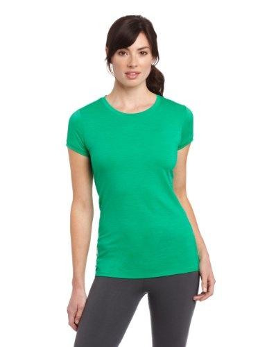 Icebreaker Womens Tech Short Sleeve Top Clothing. merino-wool, Crewe neck. Set-in sleeves. Next-to-skin necessity. Very comfortable.