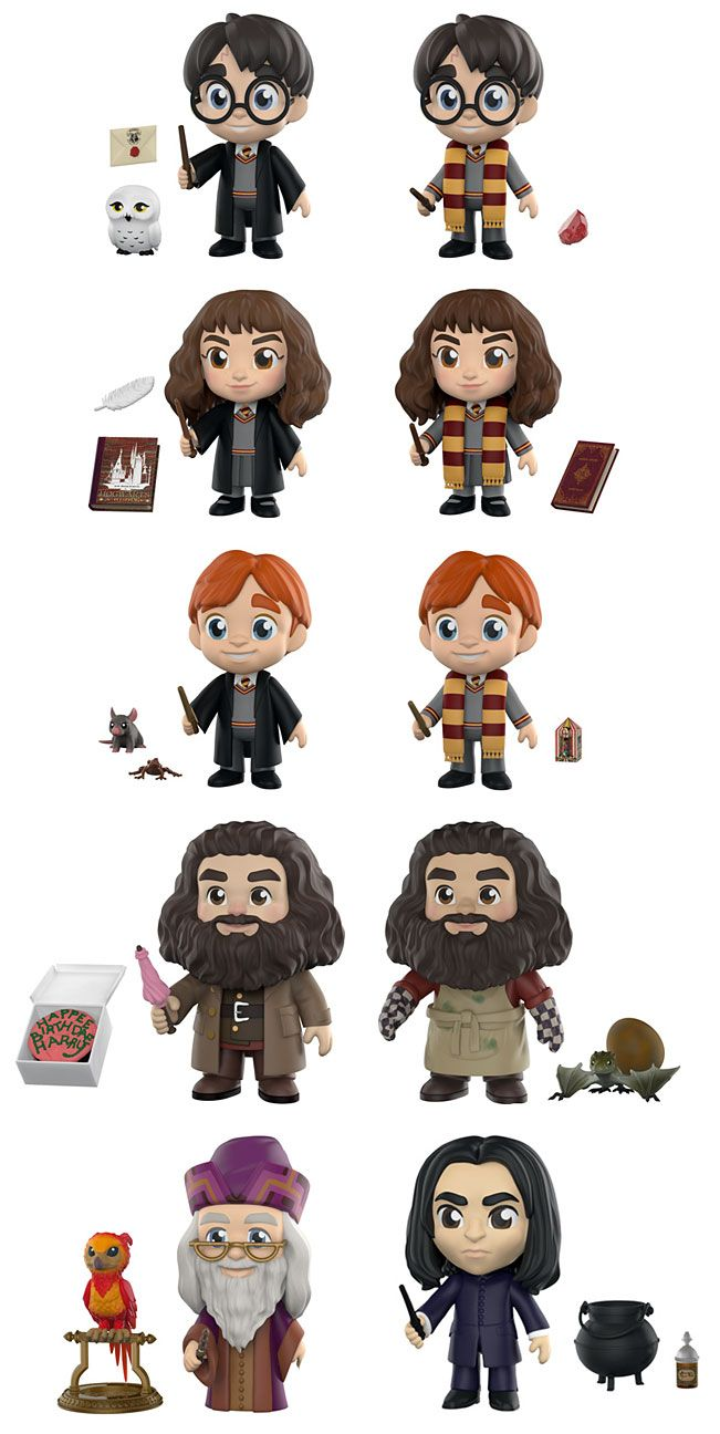 Harry Potter Funko 5 Star Figures Lego Harry Potter