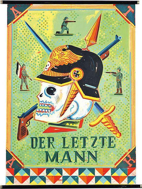 """""""Der letzte Mann"""" von Hans Bohrdt (1857-1945)"""