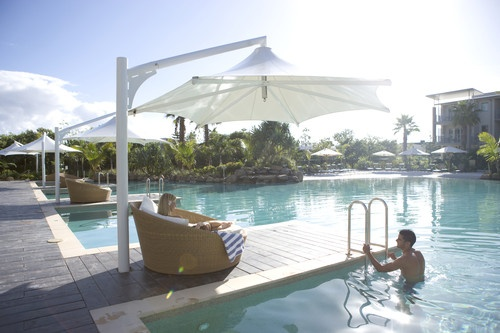 Sit back and relax by the pool at Peppers Salt Resort & Spa in Kingscliff http://www.peppers.com.au/salt/