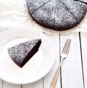 moist chocolate cake-no eggs, no butter