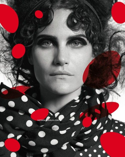 H&M - Comme des Garçons - Missy Rayder & Cartwright Lee - FW 2008 by Photos PETER LINDBERGH