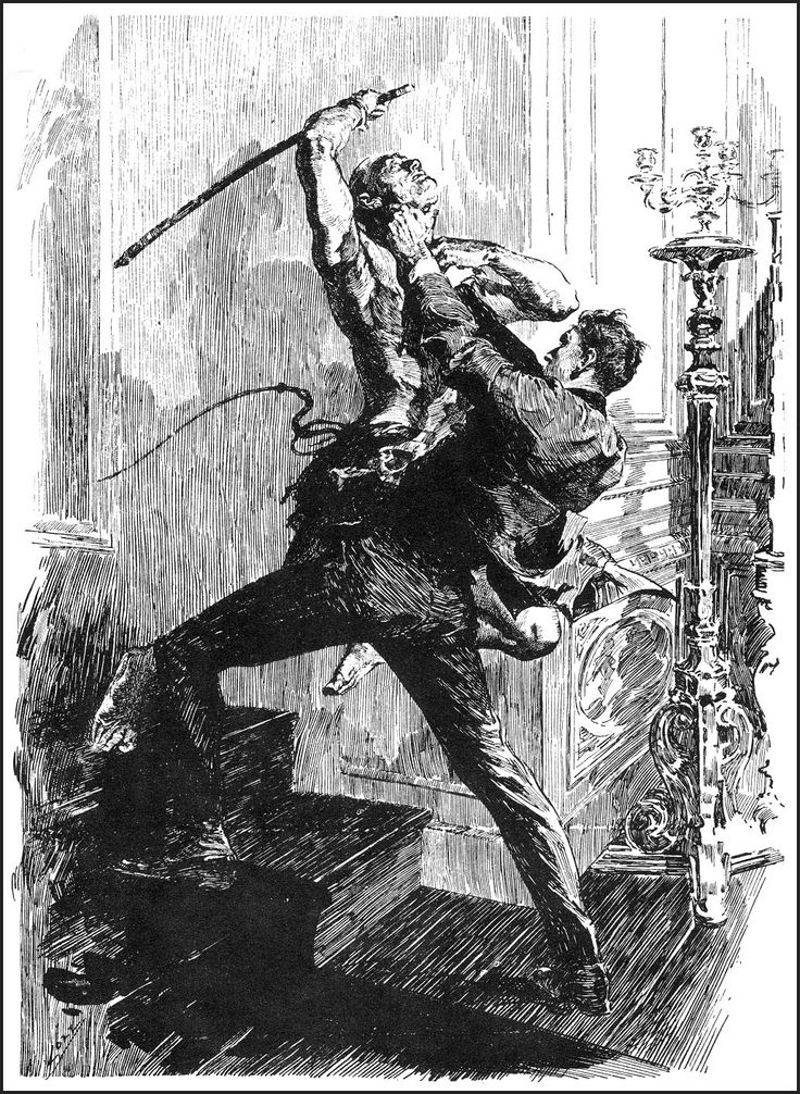 Joseph Clement Coll Ink illustrations, Ink drawing