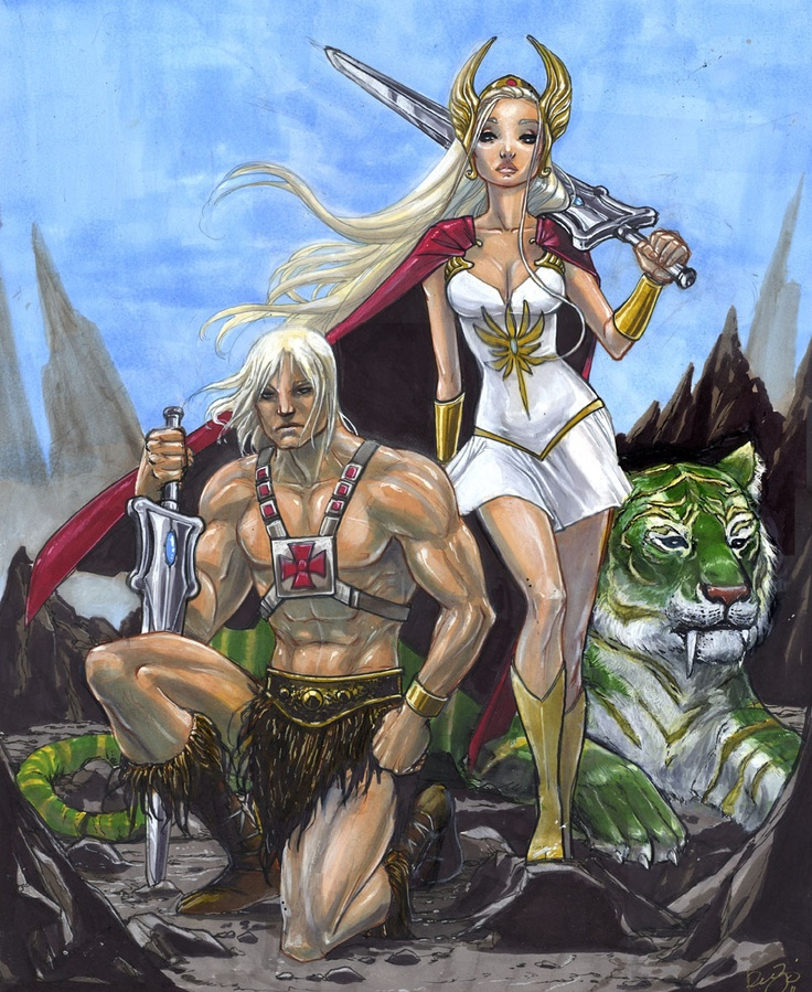he-man and she-ra christmas special  adobe
