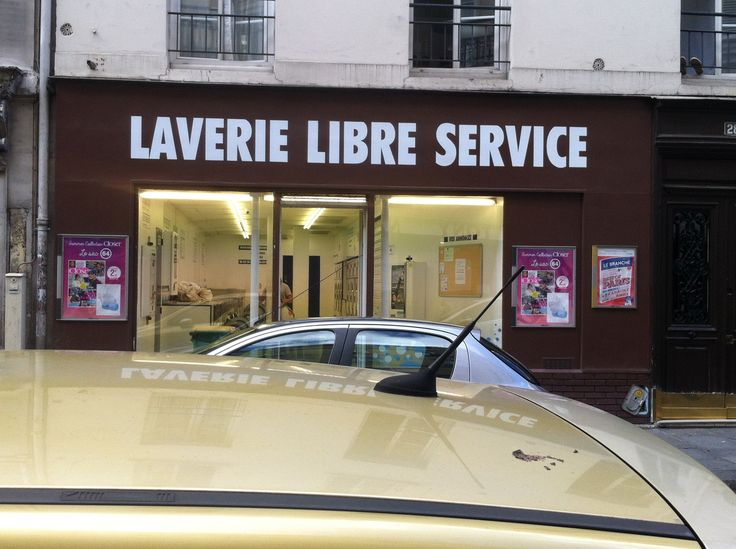 Laverie Libre Service, Paris by Emily Cheese 2015