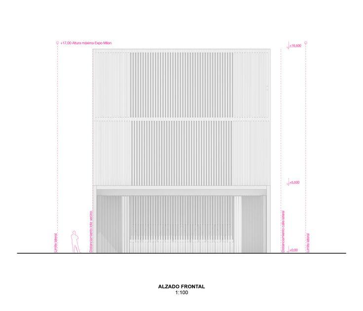 Galería de Propuestas premiadas para el diseño del Pabellón de Chile en la Expo Milán 2015 - 31
