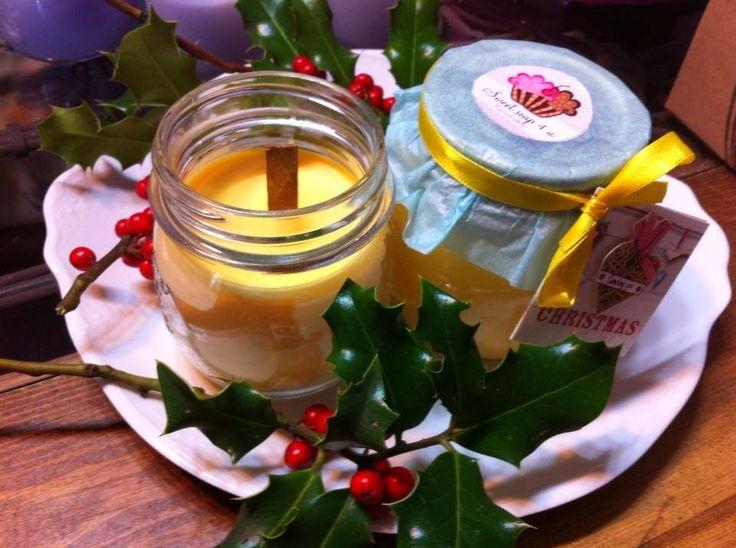 Sweet soap 4u: Velas de soja