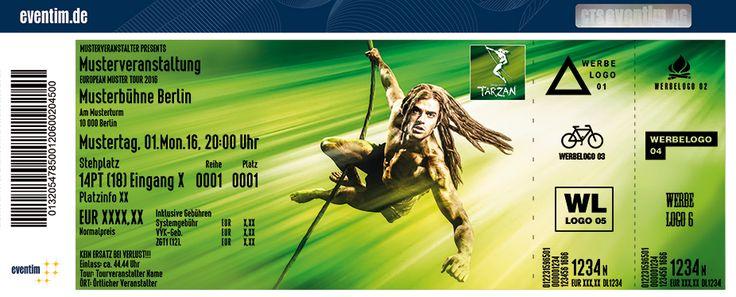 Jetzt Tickets für Disneys Musical TARZAN in Oberhausen sichern » Eventim