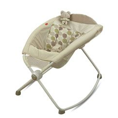 The Rock and Play Sleeper was a great find for my two grandsons.  If your baby experiences reflux, the gentle angle inclines the sleeping position and the rocking motion helps lull them back to sleep.  Both my grandsons sleep very well in theirs.