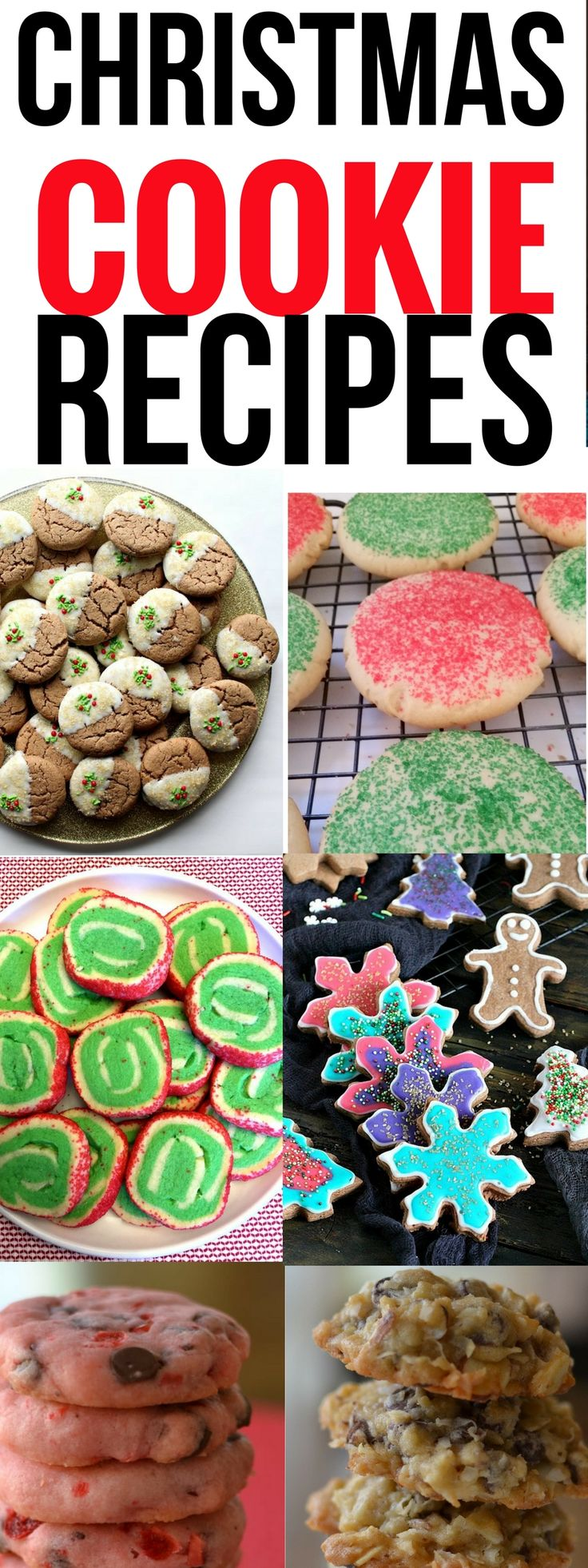 These 10 tasty Christams dinner recipes are THE BEST! I'm so glad I found these dinner recipes, now my family and I can enjoy our Christmas dinner! Pinning this for sure! #christmascookies