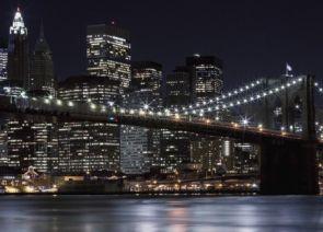 DecoArt24.pl Brooklyn Bridge, New York - fototapeta - Miasta - ARCHITEKTURA - FOTOTAPETY