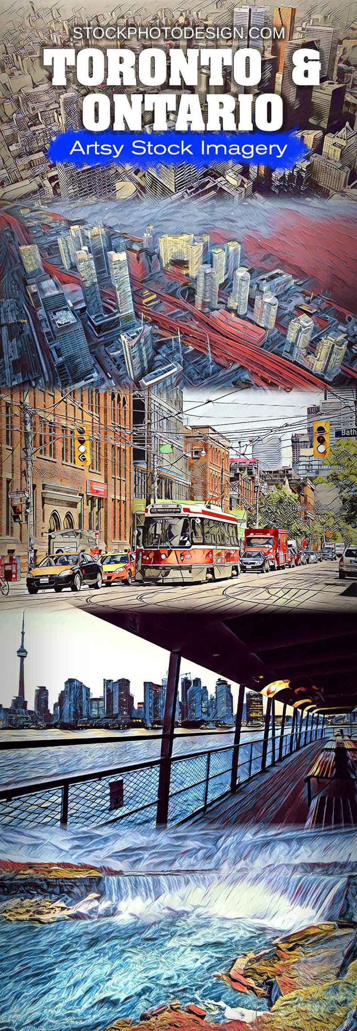 Toronto & Ontario - Artsy RF Stock Images at Great Prices - Stockphotodesign.com