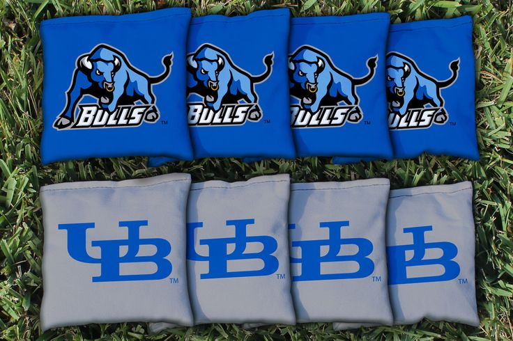 Cornhole All Weather Bag Set - SUNY Buffalo UB Bulls