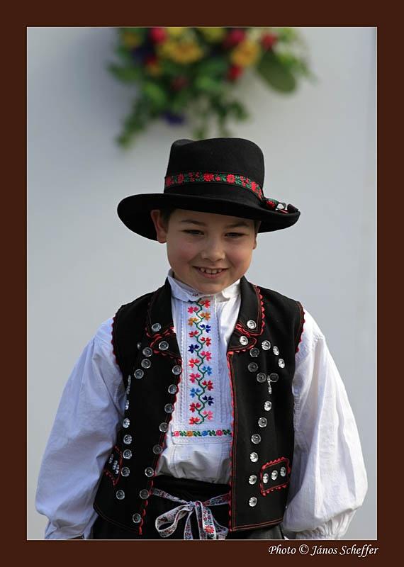 traditional dress ~ Portraits from Hollókő, Hungary