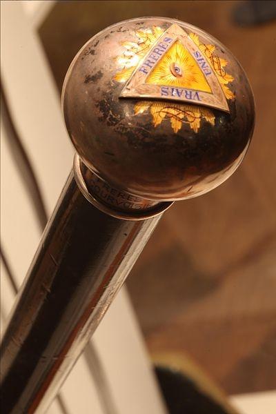 Freemasonry:  #Masonic Cane.