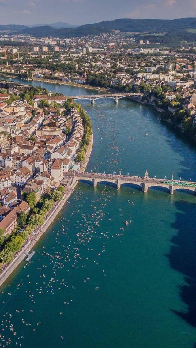 Rhein Schwimmen Basel 2016