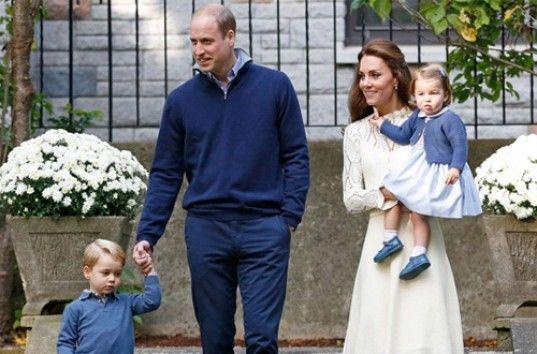 Принц Джордж и принцесса Шарлотта на детском празднике в Канаде (ВИДЕО)
