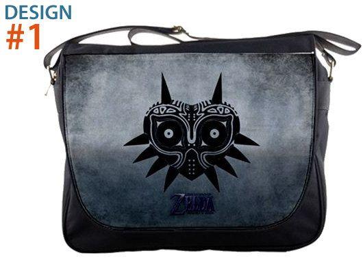 Legend of Zelda  Majora's Mask 14 Messenger Sling by extraboomshop, $27.00