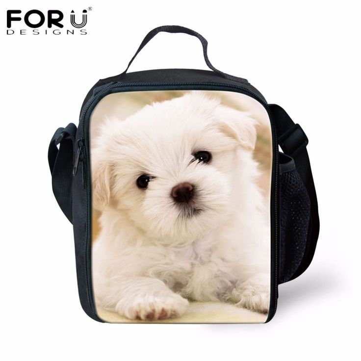 Cheap lunch bag, Buy Quality girl lunch bag directly from China lunch bag cute Suppliers: FORUDESIGNS Cooler Insulated Girls Lunch Bags Cute Animal Pet Dog Printed Lancheira for Kids School Food Bags Waterproof Box