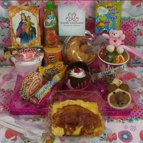 Desayunos Sorpresa para niño o niña. Los productos pueden variar al gusto del cliente