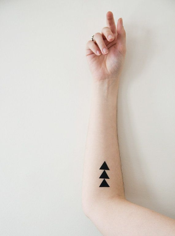 Tattoos  Triangles pyramids and by morningboutique, €3.50