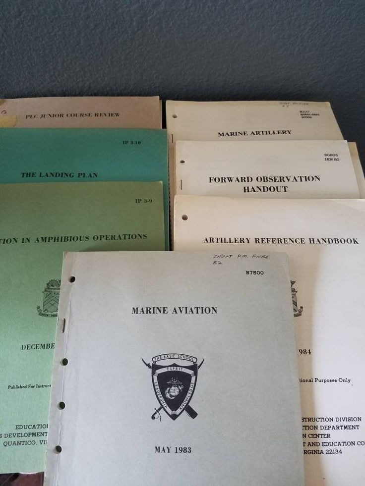 Vintage Marine Corps Reference Books Landing Force Training Etsy Marine Forces Marine Corps Close Air Support