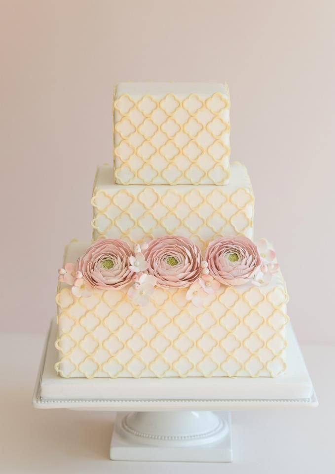 2074 best images about wedding cakes on pinterest pretty. Black Bedroom Furniture Sets. Home Design Ideas