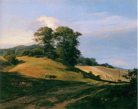 """""""Landscape, Serup Vang"""" by Lundbye"""