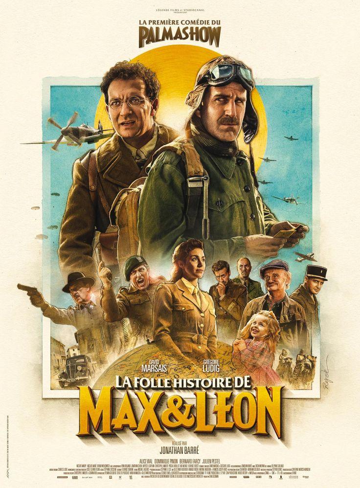 Les aventures de Max et Léon, deux amis d'enfance fainéants et bringueurs, qui tentent par tous les moyens d'échapper à la Seconde Guerre mondiale.