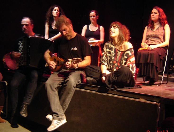 "by Dimitris Morogiannis & Music Heaven ""Ήμασταν εκεί: Η πέτρα που χορευει ...ταραντέλλα"""