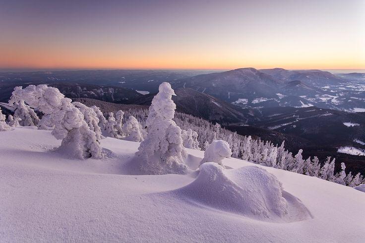 Photo Winter in Beskydy by Adam Mojzisek on 500px