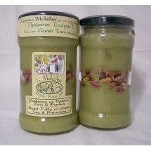 Sweet Taffy with green tea and pistachios $5,57 (euro) Worldwide delivery available via www.Mathos-Exclusive.com