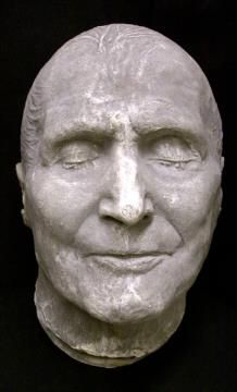 This death mask is of Pope Pius IX