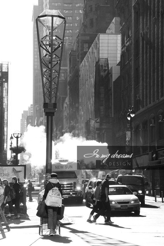 Photo - New York Streets in the Morning - taken on October 2014