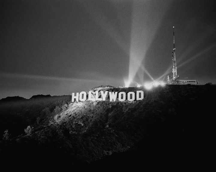 1978 Dedication Of The Newly Constructed Hollywood Sign