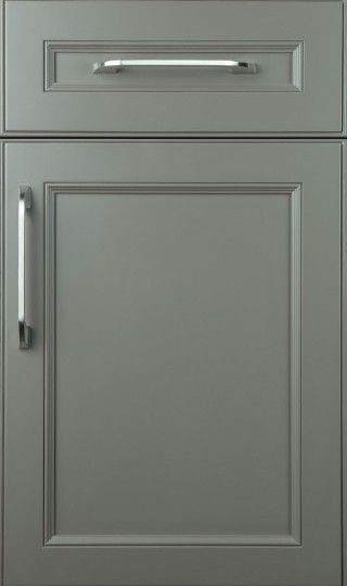 CABINET DOOR STYLES:  THIS IS A WONDERFUL SITE, with over 150 cabinet door styles from which to choose!  Shown: 'Bayshore' in Maple With Full Overlay & 'Graystone' Finish. - plainfancycabinetry.com/door-styles