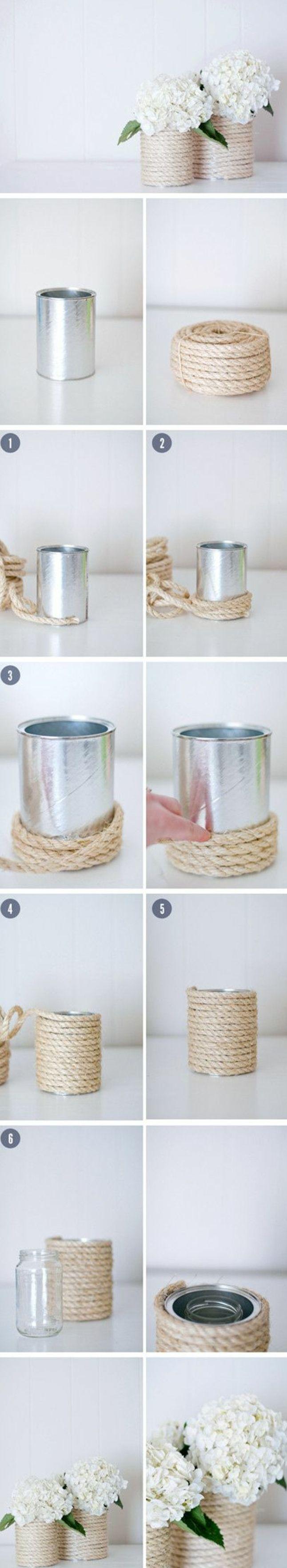 vase-de-fleur-fabriqué-à-partir-de-boite-de-conserve-customisée-a-la-corde-enroulée-autour-idée-de-projet-bricolage-facile-cadeau-pour-sa-maman-a-fabriquer-facilement-tutoriel