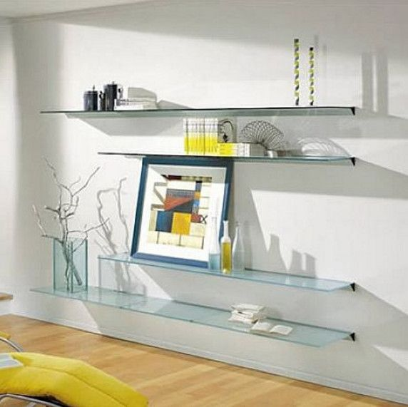 126 best Glass shelves images on Pinterest | Glass shelves ...