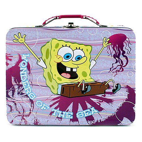 Spongebob Squarepants Carry All Spongebob Purple Tin Box @ niftywarehouse.com #NiftyWarehouse #Spongebob #SpongebobSquarepants #Cartoon #TV #Show