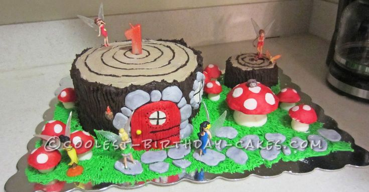 Coolest Birthday Cakes Tinkerbell