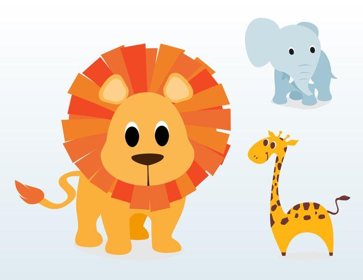 Baby Cartoon Animals Clipart Clipart Kid Cartoon