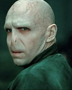 (Day 9: Your least favorite male character and why.) Um... Voldemort. How can I honestly pick anyone worse? I mean seriously. He's a crazy evil murderer who destroys Hogwarts (my home). So yeah. Definitely my least favorite. But I also can't stand Filch and especially Crazy Crabbe in the last book/movie.